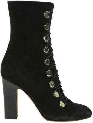 89f1f3f9e17 Jimmy Choo Black Suede Boots - ShopStyle