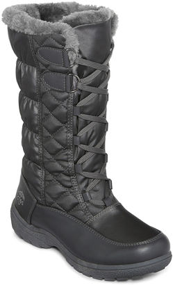 Totes Tracey III Puff Lace-Up Boots $69.99 thestylecure.com
