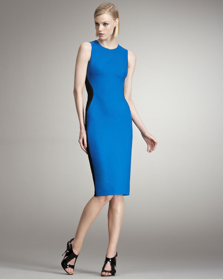 Stella McCartney Colorblocked Sheath Dress