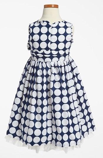 Pippa & Julie Print Dress (Toddler Girls, Little Girls & Big Girls) Mod Dot 4T