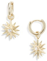 Kendra Scott Starburst Huggie Hoop Earrings