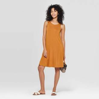 A New Day Women's Regular Fit Sleeveless Round Neck Knit Tank Dress