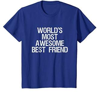 World's Most Awesome Best Friend BFF T-Shirt