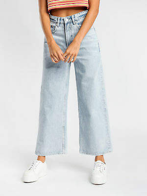 85b078b828 Lee New Womens High Tubes Crop Jeans In Union City Denim Jeans High Waisted