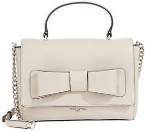 Karl Lagerfeld PARIS Bobbi Colourblock Leather Crossbody Bag