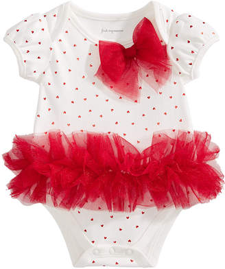 First Impressions Baby Girls Tulle Tutu & Bow Bodysuit