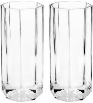 Versace Medusa Lumiere Long Drink Glasses - Set of 2