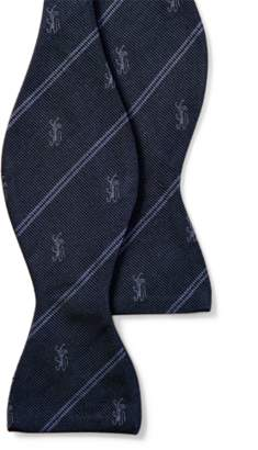 Ralph Lauren Striped Silk Club Bow Tie