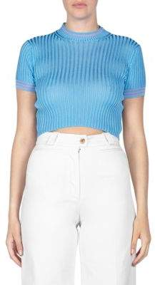 Acne Studios Sisian Cropped Sweater