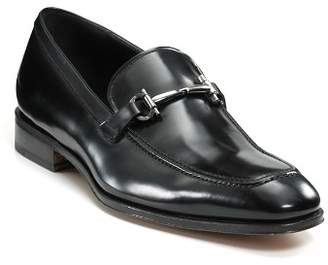 Salvatore Ferragamo Men's Fenice Patent Leather Bit Loafers