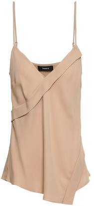 Theory Wrap-effect Silk Camisole