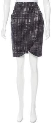 Hanii Y Houndstooth Knee-Length Skirt
