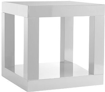 Parsons Cube Side Table