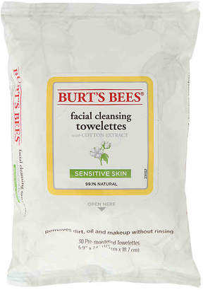 Burt's Bees Sensitive Cotton Extract Facial Cleansing Towelettes - Women's