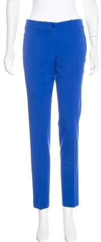 Michael Kors Mid-Rise Straight-Leg Pants