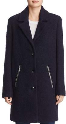Calvin Klein Bouclé Coat