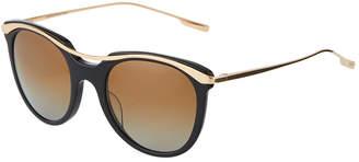 Salt Elkins Round Acetate/Metal Sunglasses