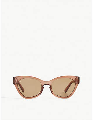 Le Specs Raffiné Panthére cat-eye sunglasses