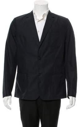 Christian Dior Woven Two-Button Blazer