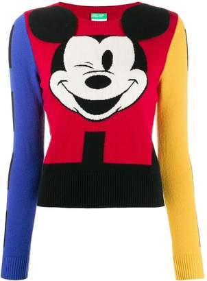 Benetton Mickey Mouse jumper