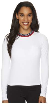Fila Rebecca Long Sleeve Top Women's Clothing