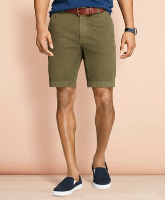 Brooks Brothers Stretch Cotton Twill Shorts