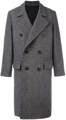 Ami Alexandre Mattiussi double breasted oversize coat
