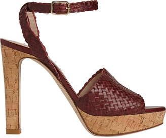 LK Bennett Margot woven leather sandals