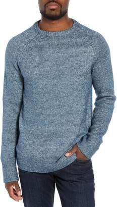 Schott NYC Multi Yarn Crewneck Raglan Sweater
