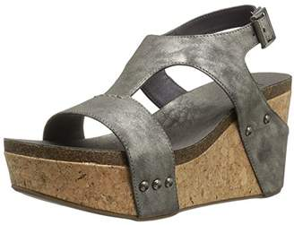 Sugar Women's Junebug Cork Wedge Sandals