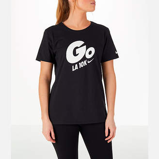 Nike Womens GO LA 10k Exclusive Crew T-Shirt