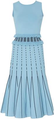 Prabal Gurung Exclusive Fringed A-Line Knit Dress