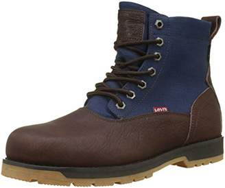 Levi's Men's Logan Ca Desert Boots, (Dark Brown 29)