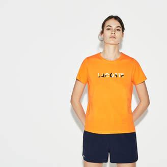 Lacoste (ラコステ) - ロゴ ジャージー クルーネックテニス Tシャツ