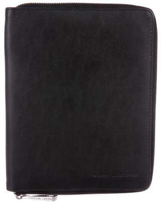 Marc Jacobs Leather MM Agenda Cover w/ Notebook