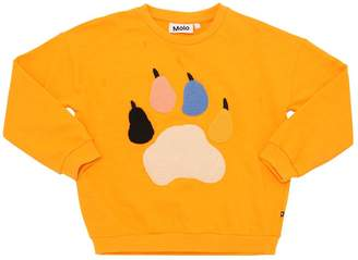 Molo Paw Patches Cotton Sweatshirt