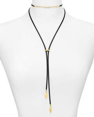 "Vanessa Mooney Buena Bolo Necklace, 18"" $85 thestylecure.com"