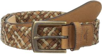 Tommy Bahama Men's 35MM Leather Cord Braid