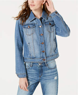 Dollhouse Juniors' Denim Jacket