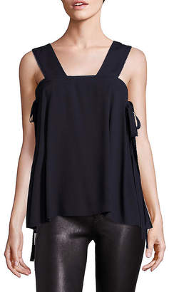 Helmut Lang Side Tie Tank Top