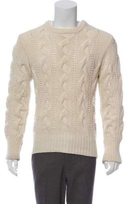 Black Fleece Heavy Cable Knit Sweater