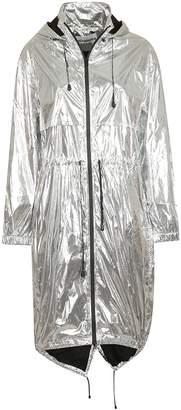 Paco Rabanne Drawstring Raincoat