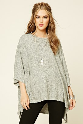 FOREVER 21+ Heathered Knit Sweater Top $24.90 thestylecure.com