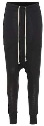 Rick Owens Lillies wool and angora-blend pants