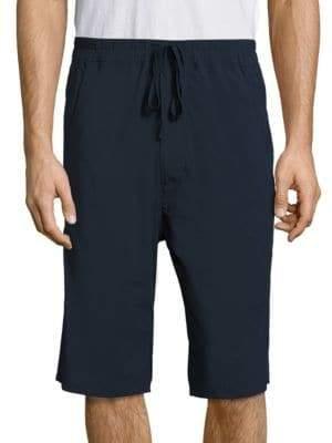 Vince Stretch Nylon Drop Rise Shorts