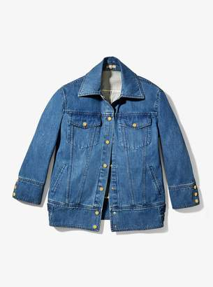Michael Kors Oversized Denim Jacket