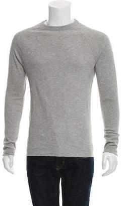 Billy Reid Woven Crew Neck Sweater