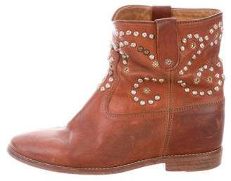 Isabel Marant Studded Ankle Boots
