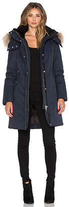 Mackage Kerry Jacket with Asiatic Raccoon Fur and Sheepskin