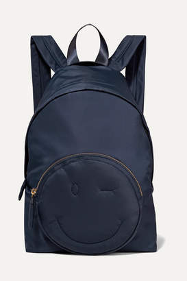 Anya Hindmarch Chubby Shell Backpack - Navy